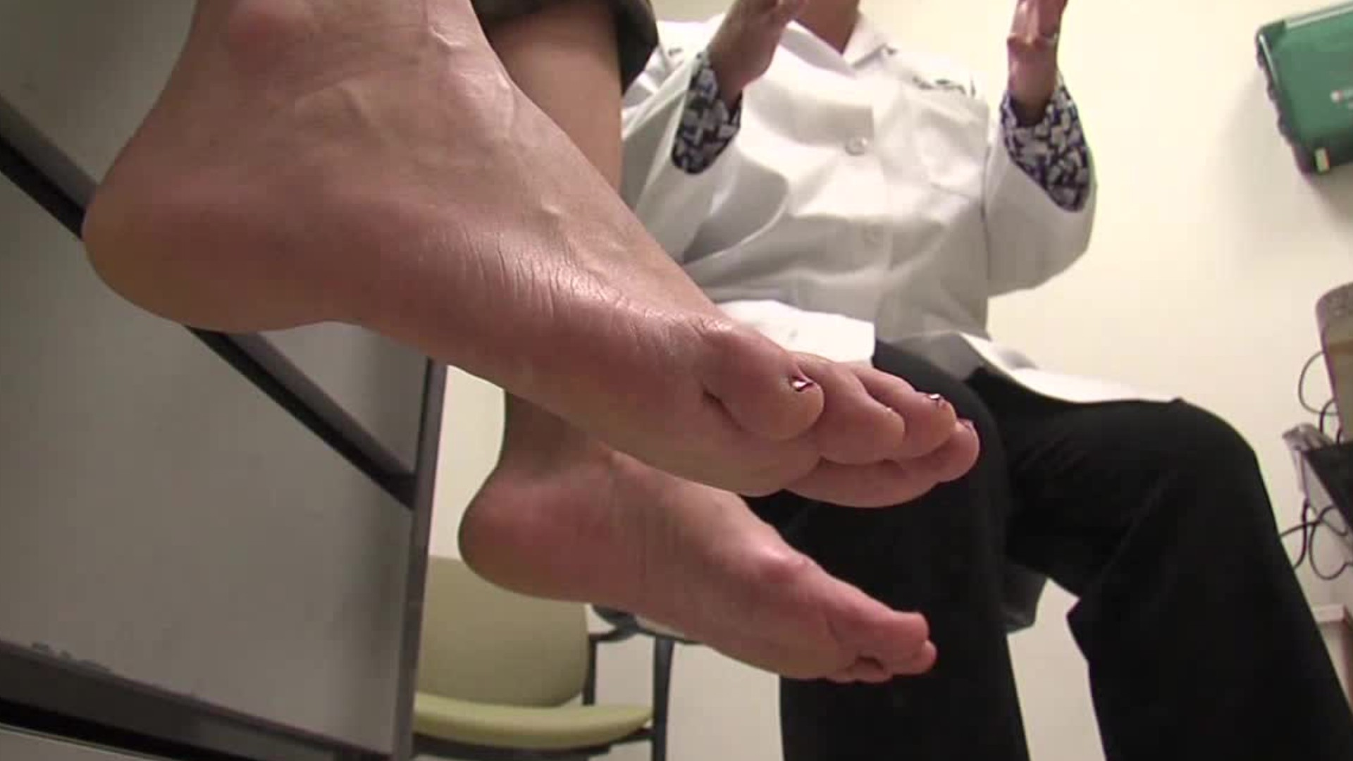 career video of a Podiatrists job occupation